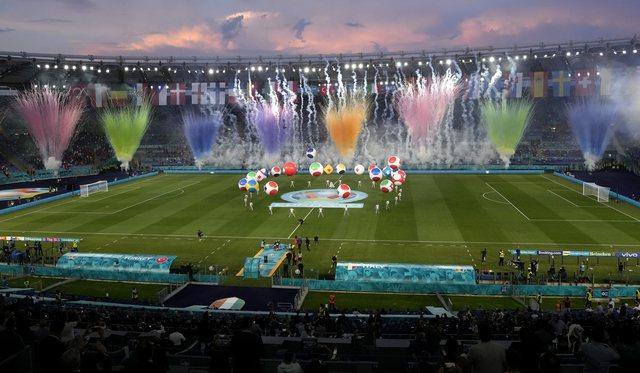 """""""Euro2020"""" në foto/ Festë madhështore në"""