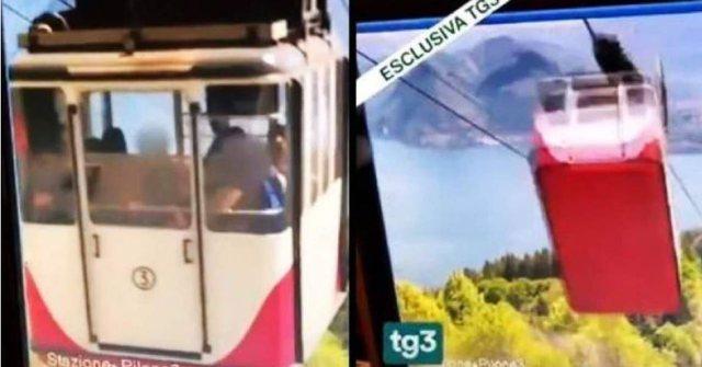 Video/ Publikohen pamjet e rënies së teleferikut në Itali, ku