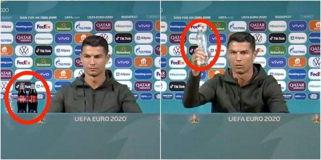 Coca-Cola përgjigjet pasi gjesti i Cristiano Ronaldos fshin 4 miliardë