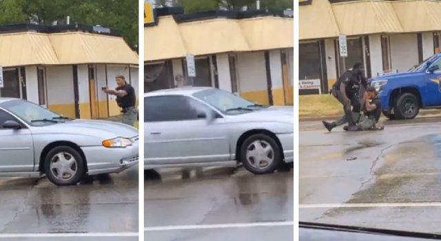 """Video/ Polici nuk ndalet së qari pasi """"u detyrua"""" ta vrasë"""