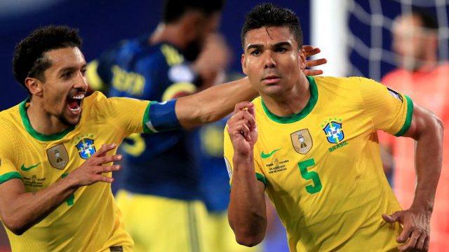 Video/ Brazili njeh vetëm fitore, përmbys Kolumbinë në
