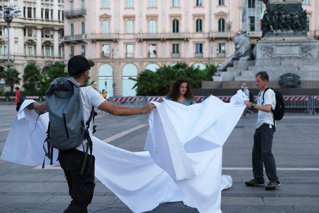 """""""Vjosa Park Kombëtar"""" shpaloset në Milano, brenda"""