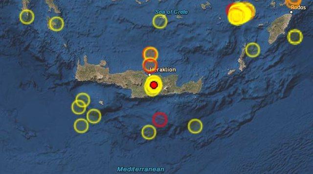 Tronditet Greqia, goditet nga tërmeti me madhësi 4.8 të