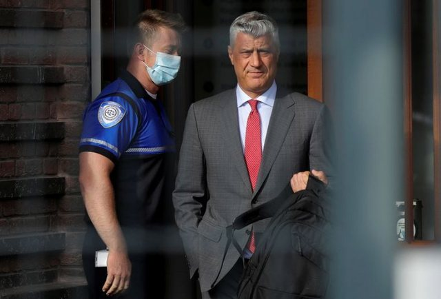 Haga refuzon lirimin e Thaçit / Ish-presidenti do të hetohet në