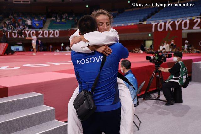 Kosova siguron medaljen olimpike në Xhudo, Distria Krasniqi kalon në