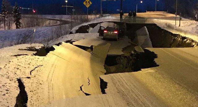 Video/ Alaska goditet nga tërmet i fortë 8,2 Rihter, rrezik për