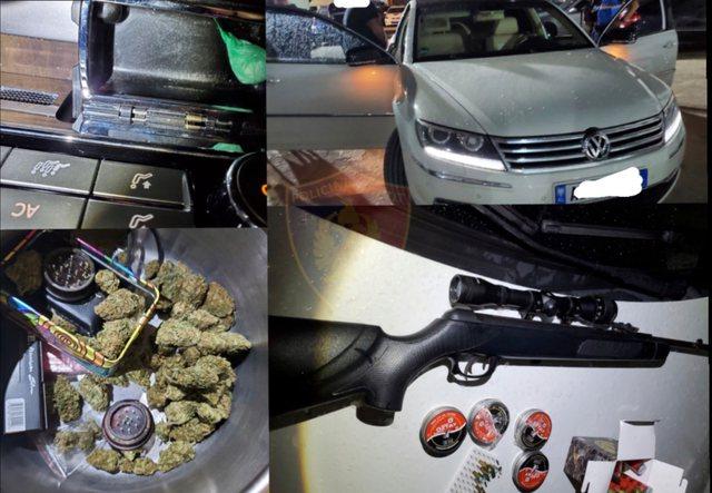 Kokainë, pushkë sportive, fishekë manovër. Policia e