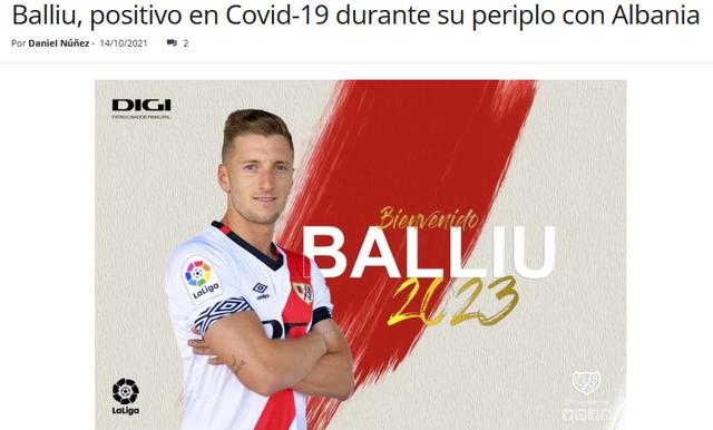 Ivan Balliu nuk ishte i dëmtuar, në Spanjë konfirmohet me