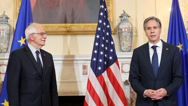 Takimi Blinken-Borrel, vlerësohet parneriteti BE-SHBA