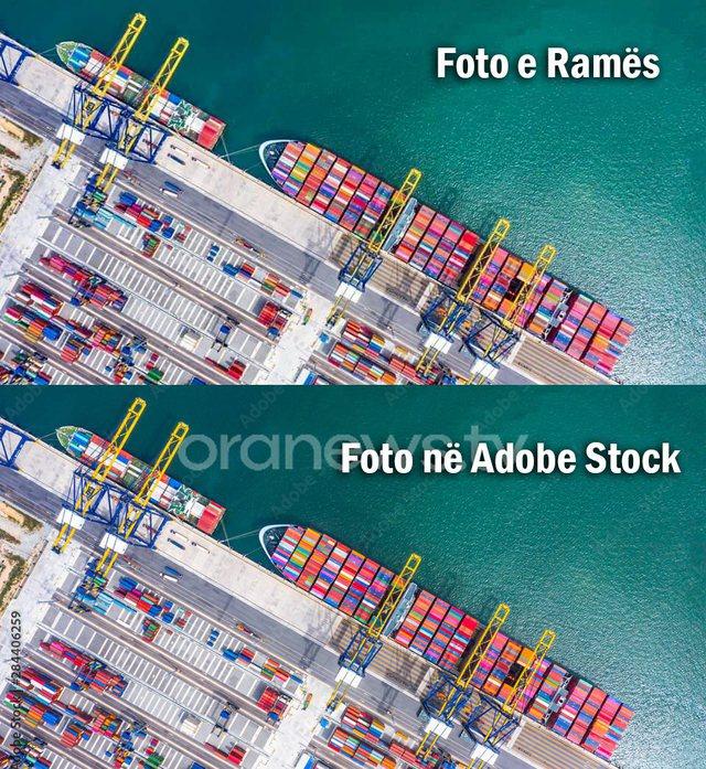 Rama e bën sërish: Vjedh fotot për portin e Durrësit nga