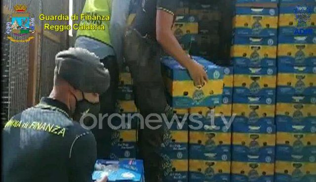 Italia sekuestron mbi 1 ton kokainë me vlerë 225 mln euro në