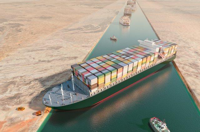 """Egjipti bllokon anijen """"Ever Given"""", në këmbim kërkon"""