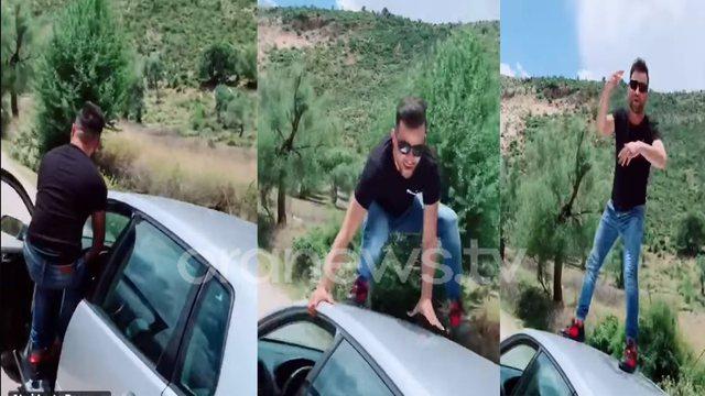 """Video/ Tik Toku """"çmend"""" të riun, lëshon makinën"""