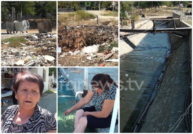 Të kërkosh kurim mes ndotjes, llixhat në Elbasan tërheqin