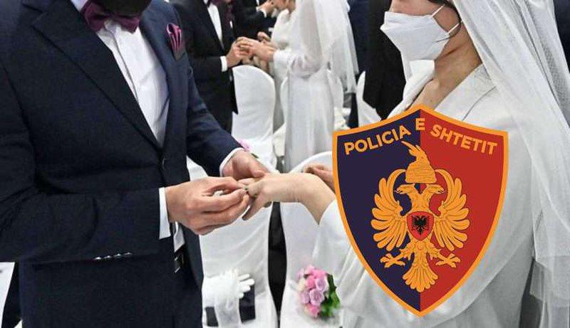 Organizoi dasmë,  gjobë dhe arrestim për pronarin e lokalit