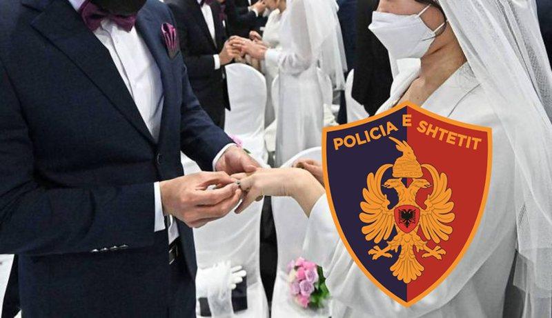 Organizoi dasmë, procedohet dhe gjobitet me 10 mln lekë