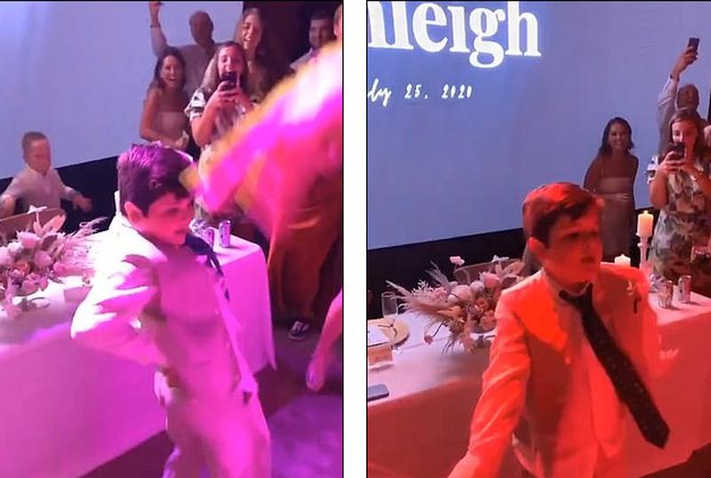 Video që është bërë virale! Kërcimi i djalit