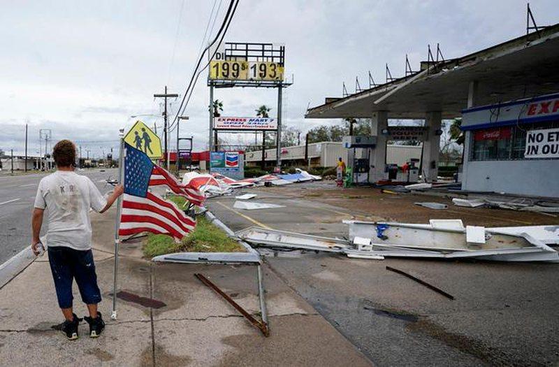 SHBA, dëme katastrofike nga uragani ''Laura''