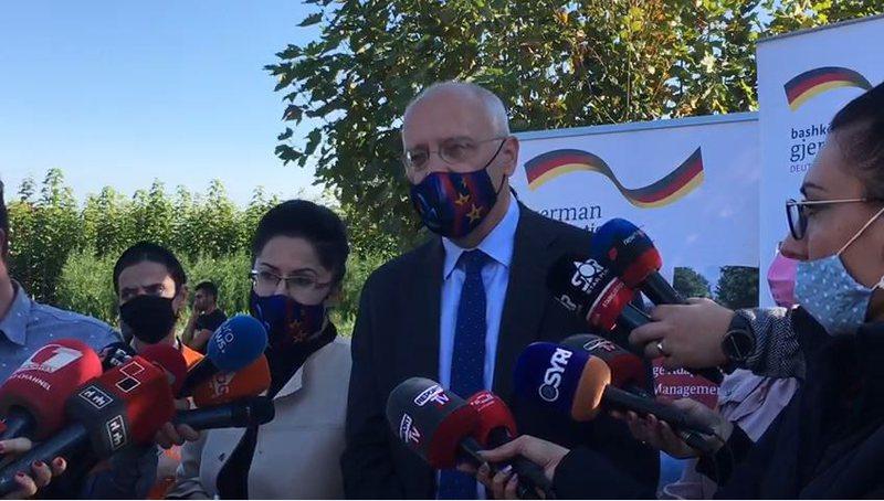 """""""Bëni detyrat!""""Ambasadori gjerman: Mbështesim integrimin,"""