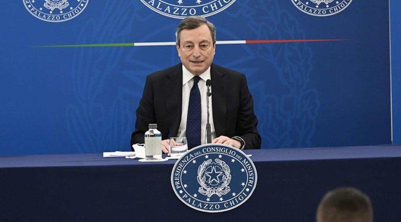 Draghi: Objektivi i Italisë është që në muajin prill