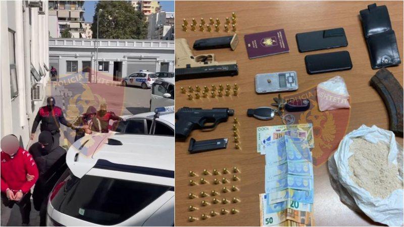 Arrestohen në Tiranë bashkë me një italian, akuzohen se