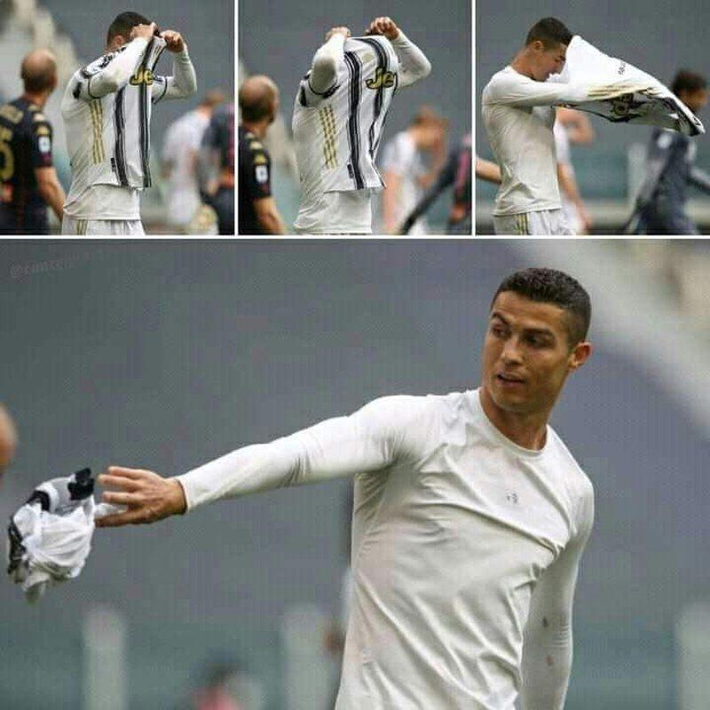 Hodhi fanellën, veprimi i Ronaldos krijon polemika