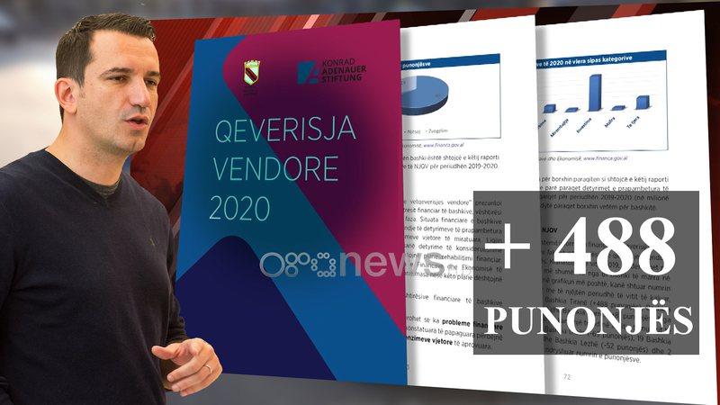 Erion Veliaj fryn administratën, bashkia e Tiranës rekruton 488