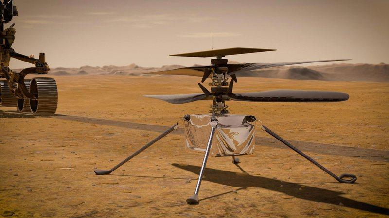 Nasa teston helikopterin e parë drejt Marsit