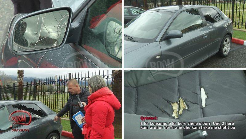 BOOM: Policia i bllokon makinën qytetarit, ia rikthen me xhama të zinj