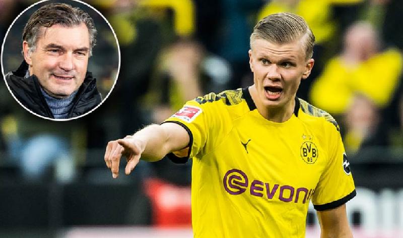 Dortmundi mbyll dyert: Haaland nuk lëviz nga këtu