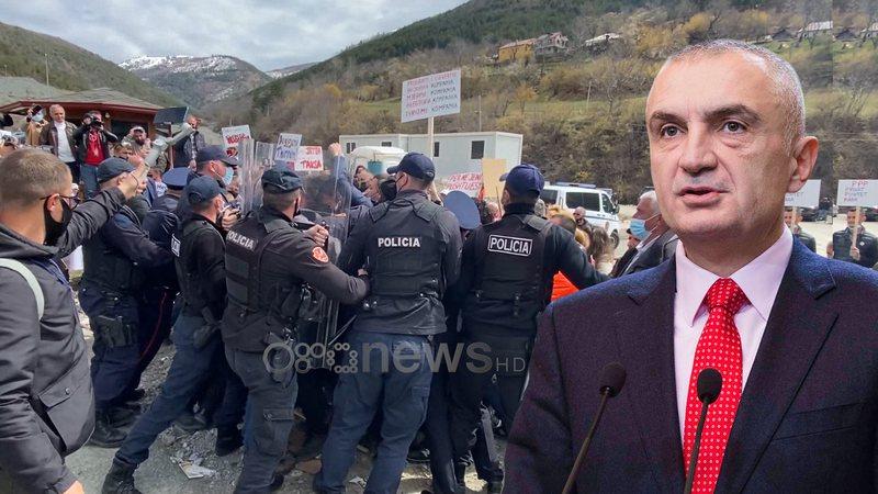 Protesta kundër HEC-it, Meta në krah të banorëve të
