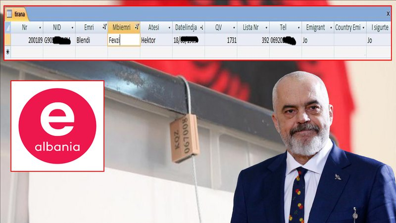 Databaza e votave/ SPAK nis hetimet, baza e e-Albania do të krahasohet me