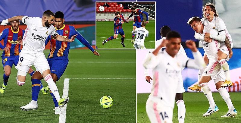 El Clasico për infarkt, Real Madrid mposht Barcelonën