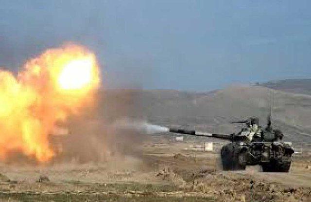 Acarohen marrëdhëniet, Azerbajxhani akuzon ushtrinë armene