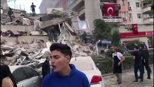 Tërmeti me magnitudë 6.6 trondit Turqinë dhe Greqinë,