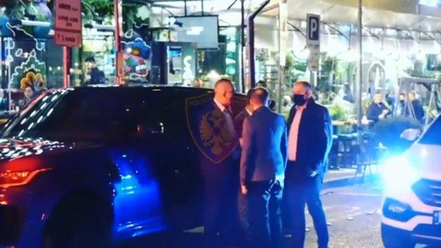 """Masat anti-covid, Ardi Veliu inspektim në """"Ish-Bllok"""" dhe zona"""