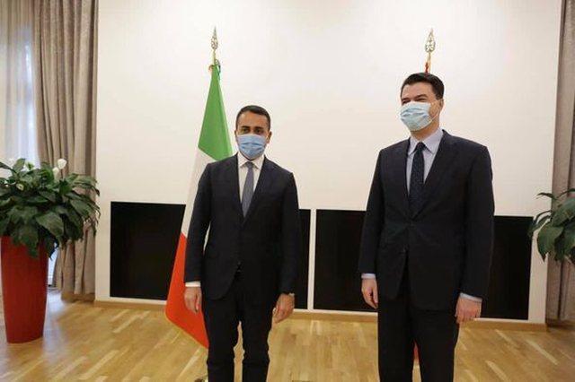 Basha tregon detaje: Di Maio shprehu interes të lartë për