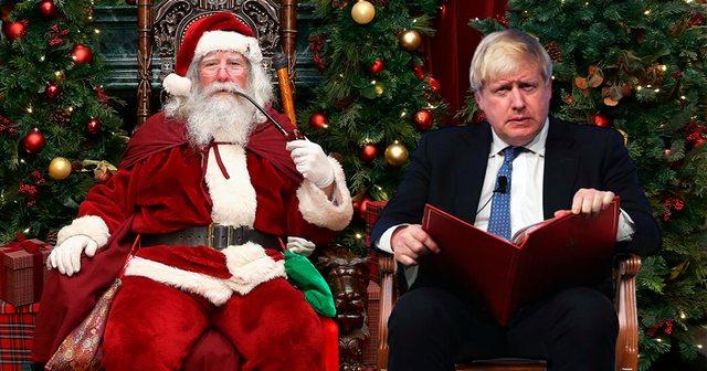 Boris Johnson i përgjigjet djalit të vogël: Po, Santa Klaus do