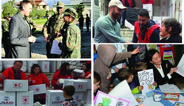 Tërmeti i 26 nëntorit/ Ambasada e SHBA: Treguat një forcë