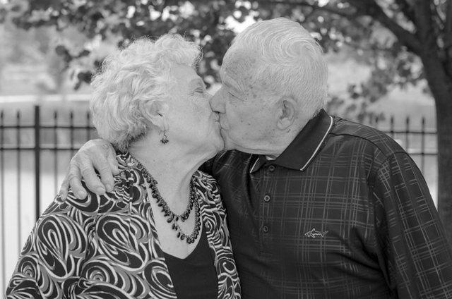 76 vite të martuar, momentet e fundit të çiftit të