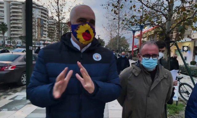 Rama në Vlorë: Nga reshjet intensive përmbytet edhe Parisi