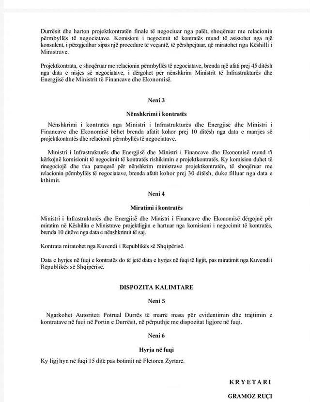 """""""Njësoj si me Teatrin"""", PD publikon dokumentet: Porti i"""