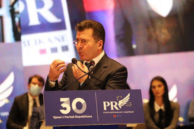 30-vjetori i Partisë Republikane, Fatmir Mediu: E djathta duhet të