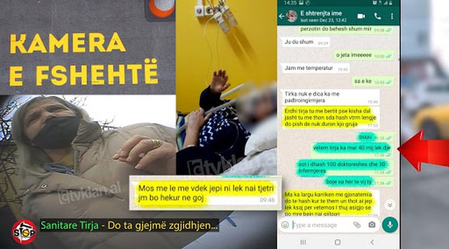 Skandali me sanitaren në Covid2, reagon Prokuroria e Tiranës: Hetim