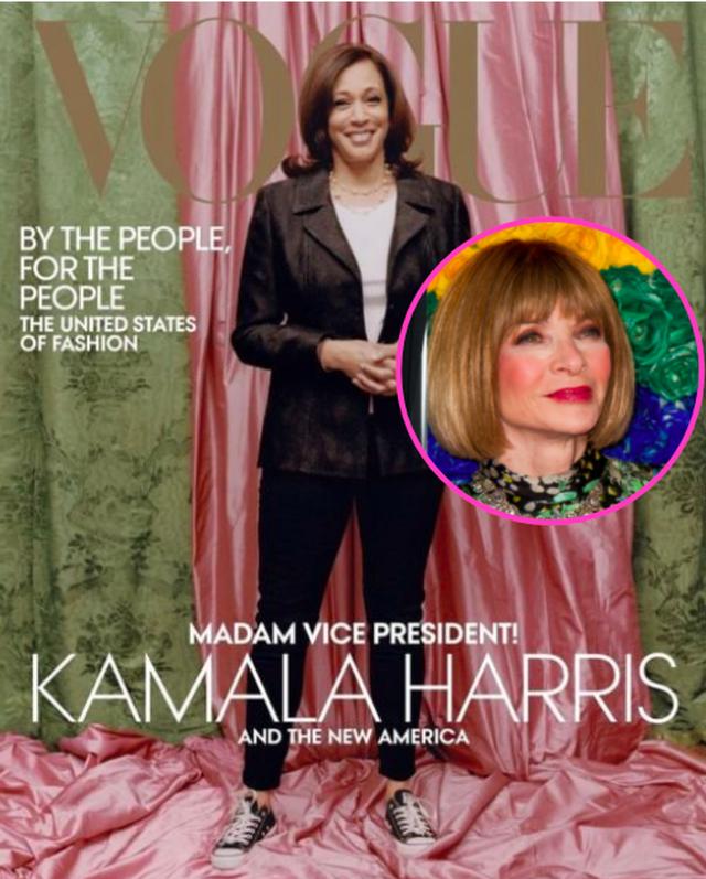 U kritikua gjerësisht kopertina e Kamala Harris për 'Vogue',