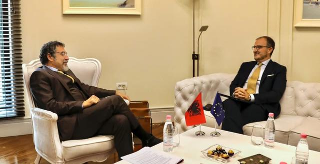 Çuçi takim me ambasadorin Soreca: BE partner i