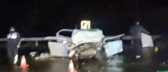 Pamje nga aksidenti tragjik me 4 viktima në Rrugën e Kombit, zbardhen