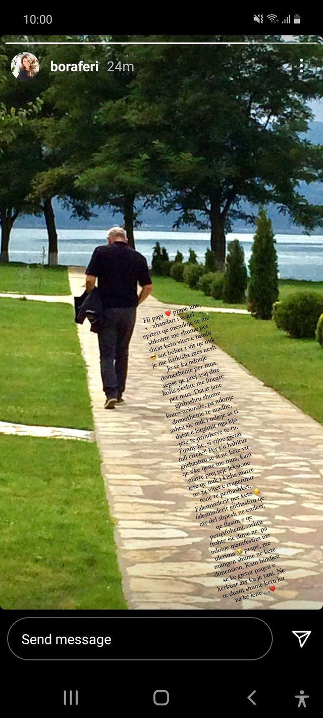 Një vit pa Xhevdet Ferin, e bija e kujton me fjalë prekëse: Mora