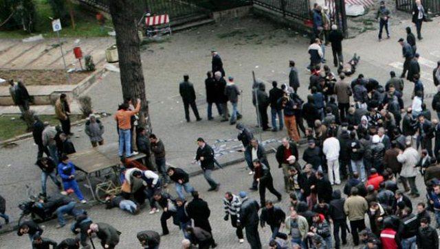 10 vjet pas protestës së 21 janarit me 4 viktima, Policia e