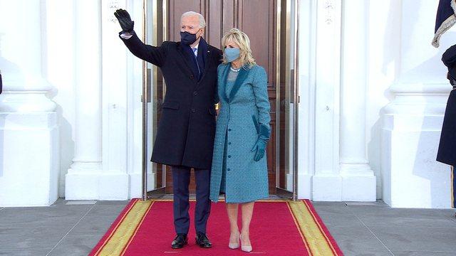 Joe Biden mbërrin për herë të parë në